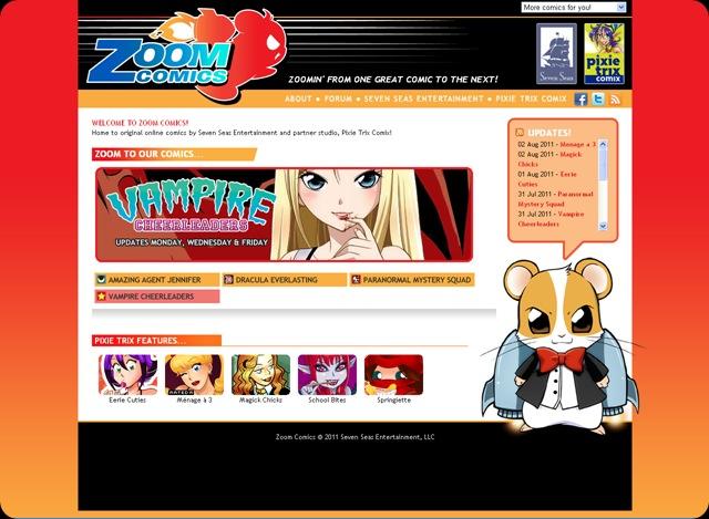 Ryus Musings Zoom Comics Online Reader Ryus Dreams